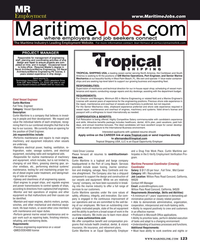 Maritime Reporter Magazine, page 123,  Aug 2016