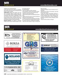 Maritime Reporter Magazine, page 124,  Aug 2016