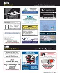 Maritime Reporter Magazine, page 125,  Aug 2016