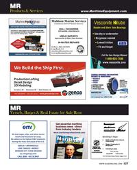 Maritime Reporter Magazine, page 127,  Aug 2016