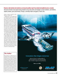 Maritime Reporter Magazine, page 23,  Aug 2016