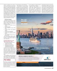 Maritime Reporter Magazine, page 27,  Aug 2016