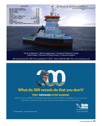 Maritime Reporter Magazine, page 47,  Aug 2016