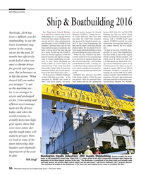 Maritime Reporter Magazine, page 50,  Aug 2016