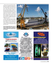 Maritime Reporter Magazine, page 61,  Aug 2016