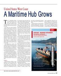 Maritime Reporter Magazine, page 23,  Sep 2016