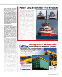 Maritime Reporter Magazine, page 25,  Sep 2016