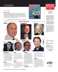 Maritime Reporter Magazine, page 4,  Sep 2016