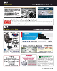Maritime Reporter Magazine, page 61,  Sep 2016