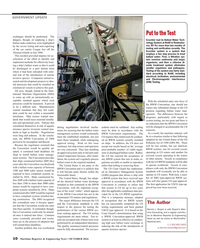 Maritime Reporter Magazine, page 10,  Oct 2016