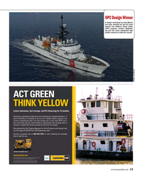 Maritime Reporter Magazine, page 13,  Oct 2016