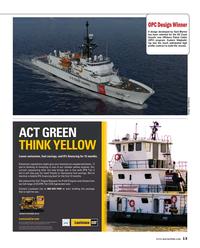 Maritime Reporter Magazine, page 13,  Oct 2016