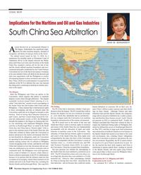 Maritime Reporter Magazine, page 14,  Oct 2016