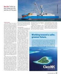 Maritime Reporter Magazine, page 49,  Oct 2016