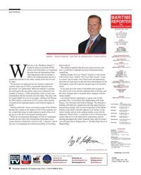 Maritime Reporter Magazine, page 8,  Nov 2016