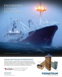 Maritime Reporter Magazine, page 4th Cover,  Nov 2016