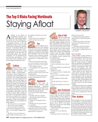 Maritime Reporter Magazine, page 14,  Nov 2016