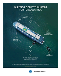 Maritime Reporter Magazine, page 2nd Cover,  Nov 2016