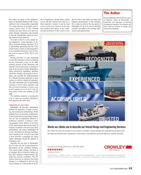 Maritime Reporter Magazine, page 23,  Nov 2016