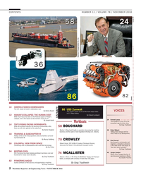 Maritime Reporter Magazine, page 2,  Nov 2016