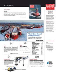 Maritime Reporter Magazine, page 4,  Nov 2016