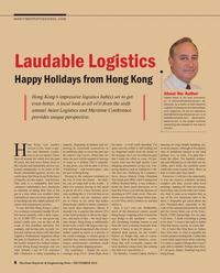 Maritime Reporter Magazine, page 8,  Dec 2016