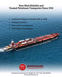 Maritime Reporter Magazine, page 2nd Cover,  Dec 2016