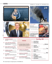 Maritime Reporter Magazine, page 2,  Dec 2016