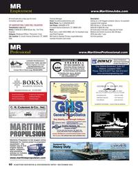 Maritime Reporter Magazine, page 60,  Dec 2016