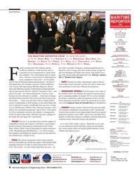 Maritime Reporter Magazine, page 6,  Dec 2016