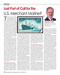 Maritime Reporter Magazine, page 20,  Jan 2017