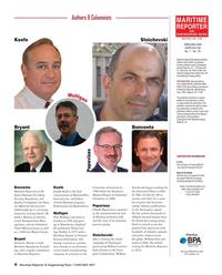 Maritime Reporter Magazine, page 4,  Jan 2017