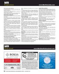 Maritime Reporter Magazine, page 60,  Jan 2017
