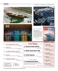 Maritime Reporter Magazine, page 2,  Feb 2017