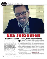 Maritime Reporter Magazine, page 40,  Feb 2017