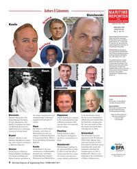 Maritime Reporter Magazine, page 4,  Feb 2017