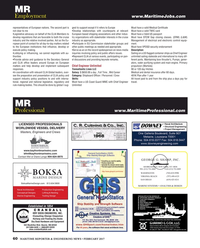 Maritime Reporter Magazine, page 60,  Feb 2017