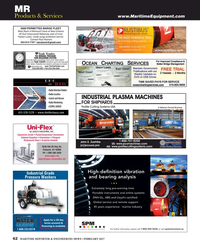 Maritime Reporter Magazine, page 62,  Feb 2017