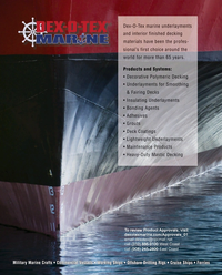 Maritime Reporter Magazine, page 4th Cover,  Feb 2017