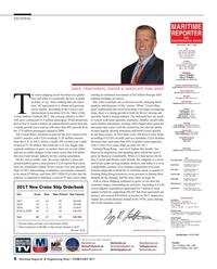 Maritime Reporter Magazine, page 6,  Feb 2017