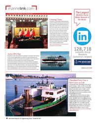 Maritime Reporter Magazine, page 8,  Mar 2017