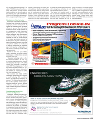 Maritime Reporter Magazine, page 41,  Mar 2017