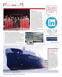Maritime Reporter Magazine, page 8,  Apr 2017