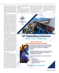Maritime Reporter Magazine, page 11,  Apr 2017