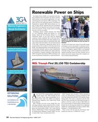 Maritime Reporter Magazine, page 30,  Apr 2017