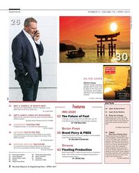 Maritime Reporter Magazine, page 2,  Apr 2017