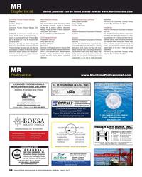 Maritime Reporter Magazine, page 68,  Apr 2017