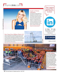 Maritime Reporter Magazine, page 10,  May 2017