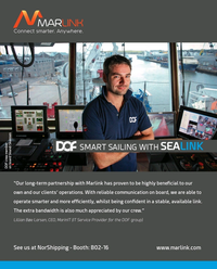 Maritime Reporter Magazine, page 2nd Cover,  May 2017