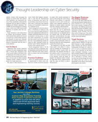 Maritime Reporter Magazine, page 26,  May 2017